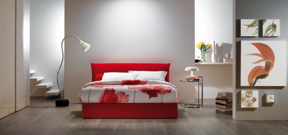 Oggioni il letto contenitore domus mobili for Domus mobili