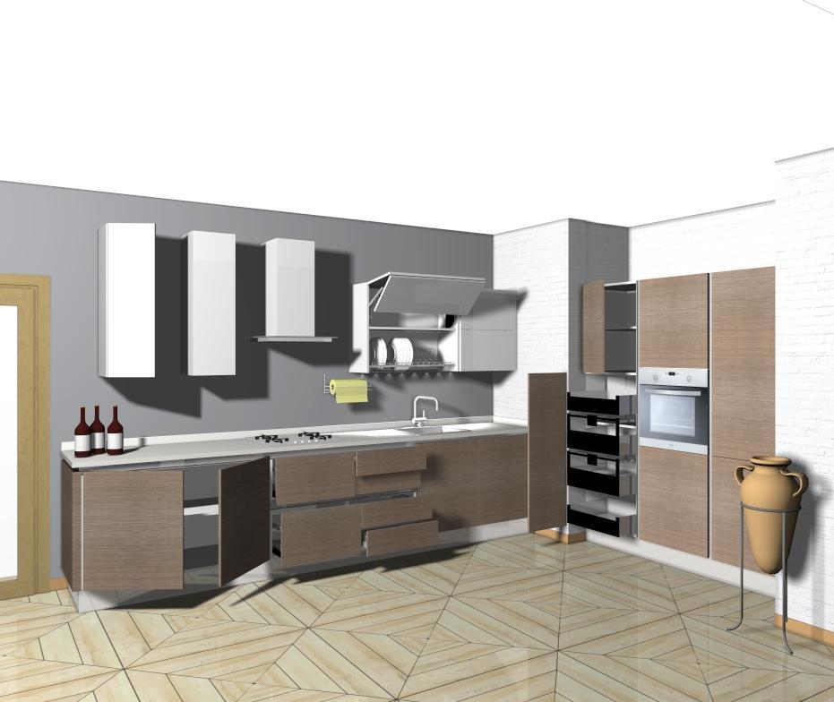 Progettare la cucina e piano in quarzo gratis domus mobili for Cucine shop on line