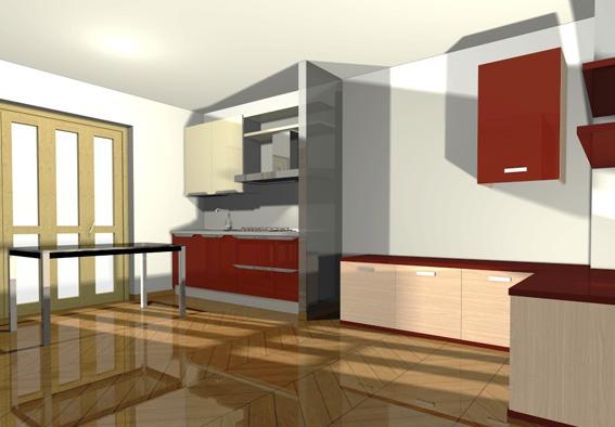 Progettare la cucina e piano in quarzo gratis domus mobili for Programma per comporre cucine